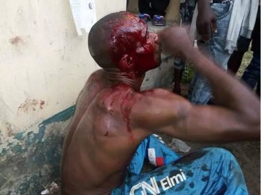 Thugs Caught And Beaten To Pulp After Attempting To Snatch Ballot Boxes In Akwa Ibom