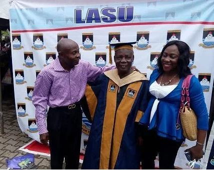 80-year-old Man Bags Msc Degree From Lagos State University