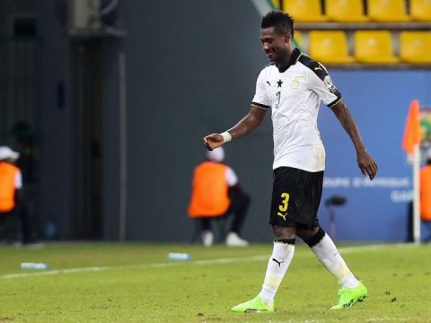 Captaincy: Asamoah Gyan Quits Ghana's Football Team