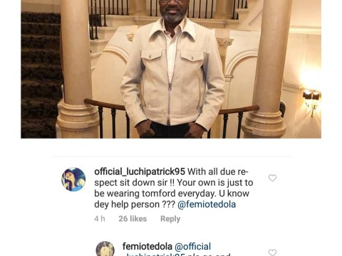 Billionaire Businessman, Femi Otedola's Response To Lady Who Asked If He Doesn't Help People