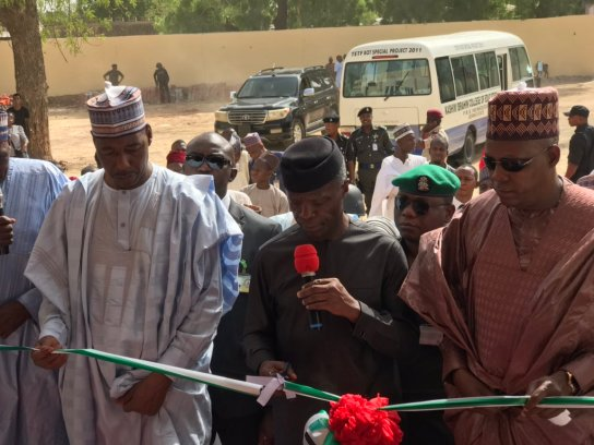 Osinbajo Commissions School And Clinic