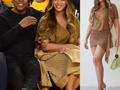 Beyonce Shows Off Her Beautiful Body