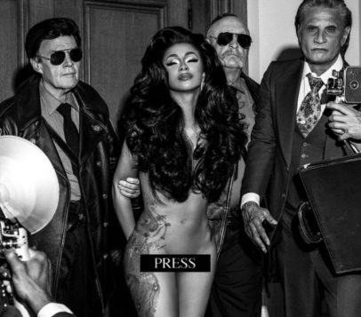 Cardi B Goes Completely Nude For Her New Single Press