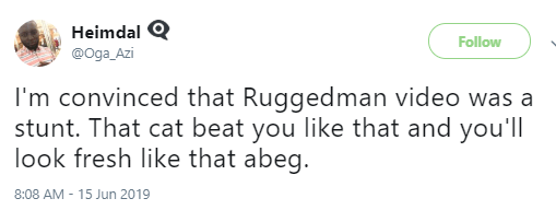 Nigerians Reacts To The Attack On Ruggedman