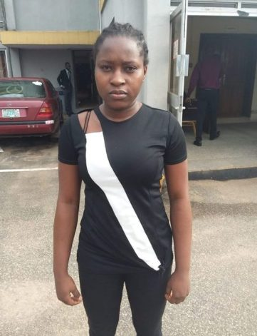 Photo As Yahoo Girl Bags 8-Month Jail Sentence In Edo State