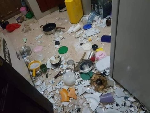 The Shocking Thing A Lady Did To Her Cheating Boyfriend's House