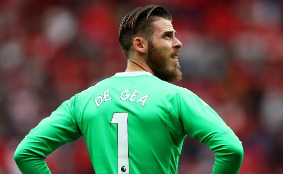 De Gea Signs New £350,000-A-Week Man United Extension