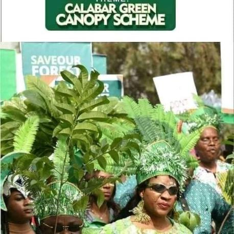 Gov Ayade Flag Off The Green Carnival One Million Trees Planting In Cross River
