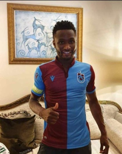 John Mikel Obi Joins Turkish Club Trabzonspor On A Two-Year Deal