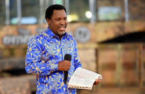 Prophet T.B Joshua Reveals Prophesies About President Buhari