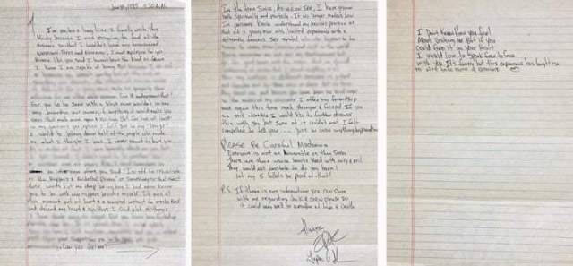 Tupac's Handwritten Love Letter To Madonna Goes For Auction Starting At $100k
