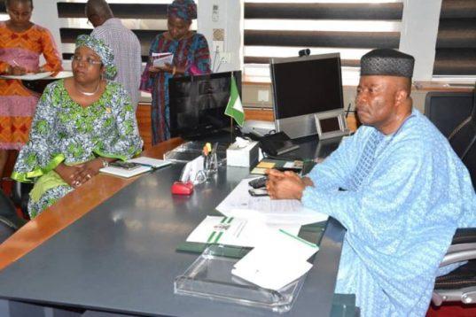 Senator Godswill Akpabio's Second Day In Office