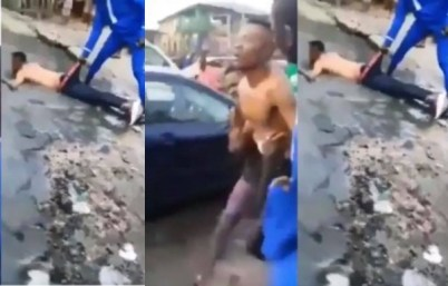 Yahoo Boy Becomes Mad After Failing To Use His Mother For Ritual