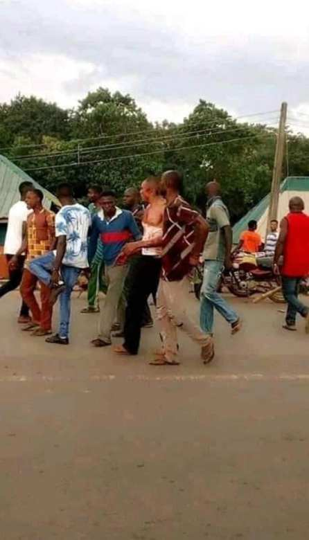 Angry Youth Beat Up Pastor, Set Church Ablaze After Accusing Him Using Residents For Rituals In Cross River