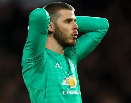 De Gea Set To Leave Man Utd