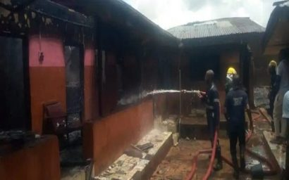 How 17-yr-old Girl Rescued Her 3 Sisters From Burning House In Anambra