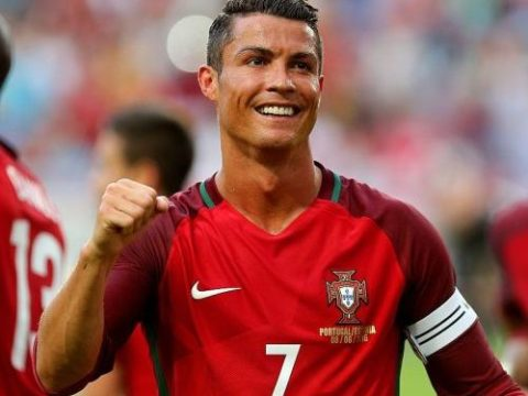 Ronaldo Wins 10th Portuguese Player Of The Year Award