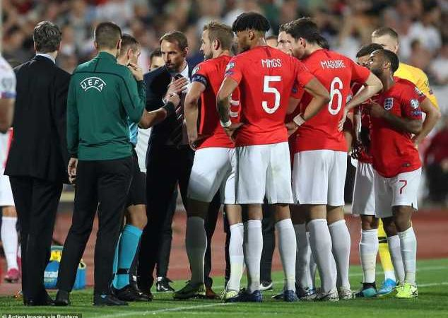 Bulgaria Vs England Match Stopped Twice Due To Racist Abuse At Players
