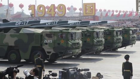 China Celebrates 70th Anniversary With New Hypersonic Nuclear Missile