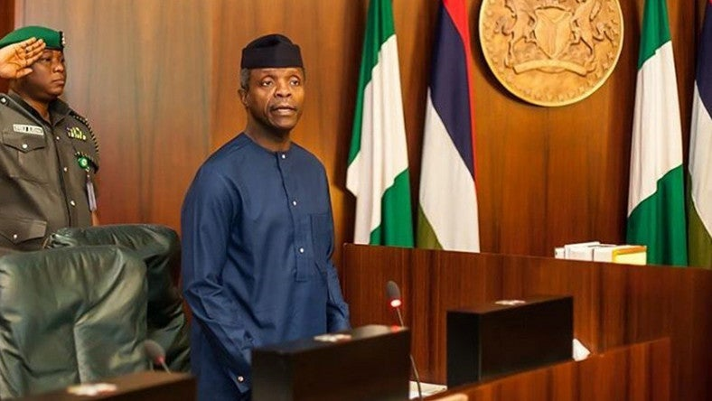 Pastor Adeboye To Osinbajo: God Has Destined You To Be Vice President, He'll Sustain You