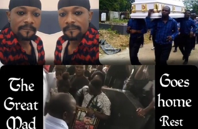 Mad Melon Of Danfo Driver Buried, As Tears Flows