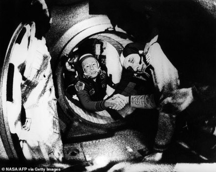 The First Human Being Ever To Walk In Space Dies At 85