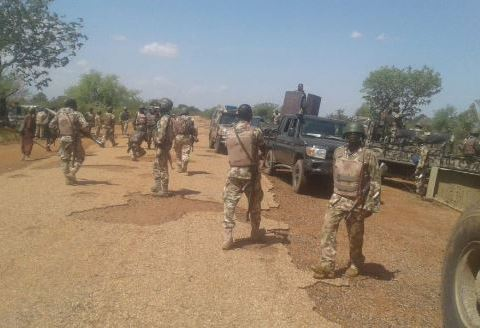 Troops Destroy Two Bandits' Camps