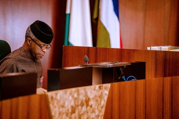 Vice President, Osinbajo Presides Over FEC Meeting