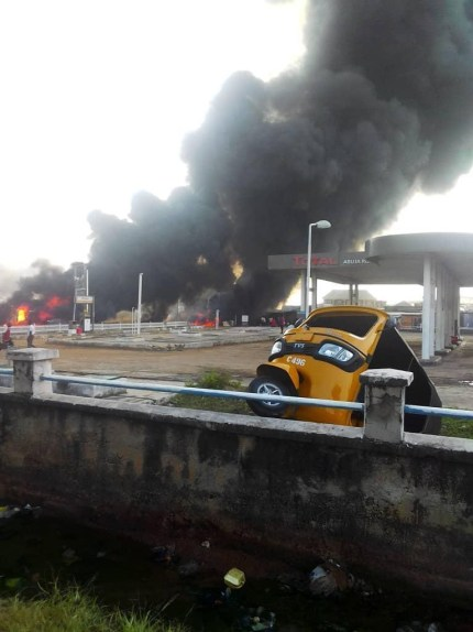 Many Confirmed Dead As Petrol Tanker Goes Up In Flames In Kogi State
