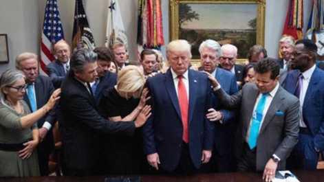 Pastors Pray For President Trump At White House