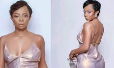 Toke Makinwa Causes Stir Online With Braless And Pantless Photos