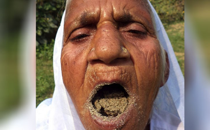 Meet Woman Who Eats Sand And Gravel As Food In India