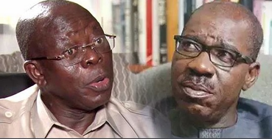 Oshiomhole Reportedly Rejects Christmas Gifts From Gov. Obaseki