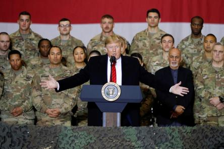 President Trump's Remarks During Troop Engagement In Bagram, Afghanistan
