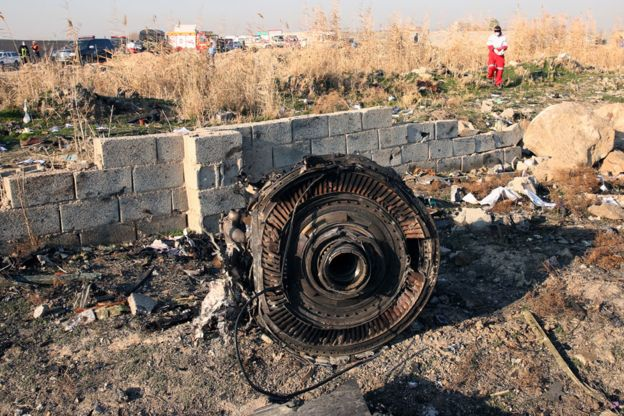 176 Killed As Ukrainian Plane Crashes In Iran