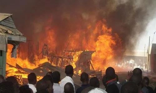 Over 200 Houses Burnt At Abule Egba Pipeline Explosion