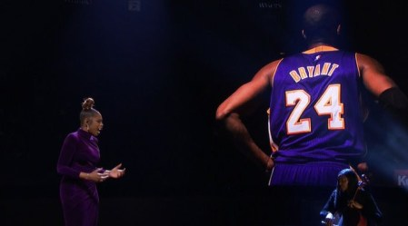 Jennifer Hudson Pays Tribute To Kobe And Gianna Bryant At The NBA All-Star Game