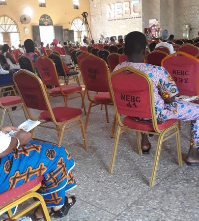 See How People Sat Inside Church In Delta