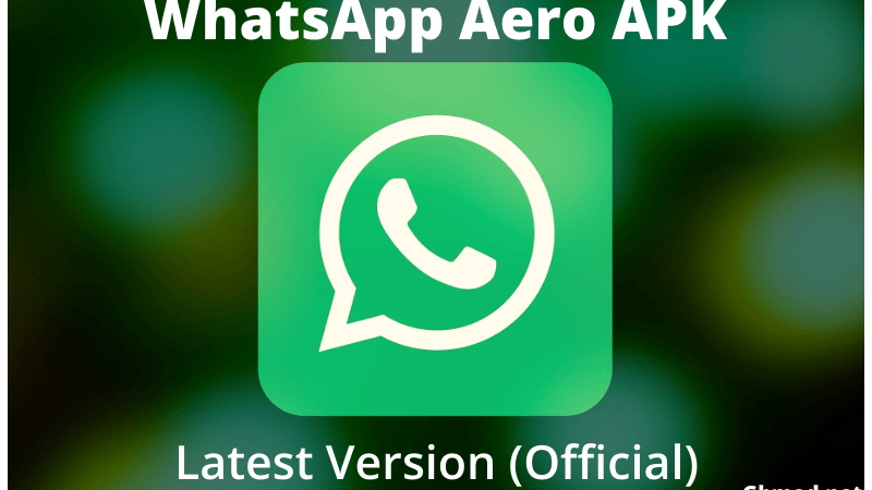 Download For Android WhatsApp Aero APK v8.21