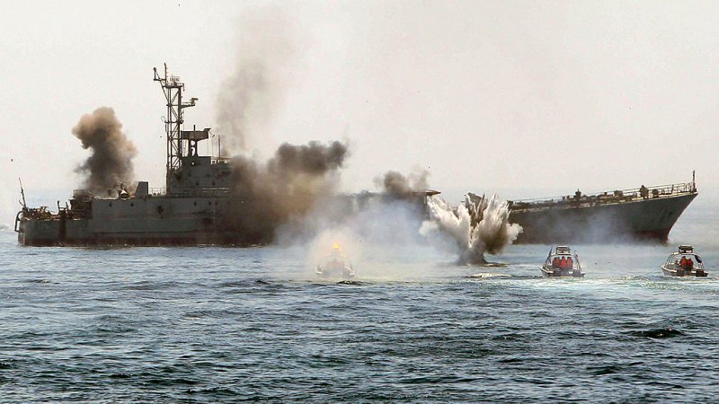 19 dead, Several Others Injured After Iranian Navy Accidentally Shot One Of Their Warships With Missile