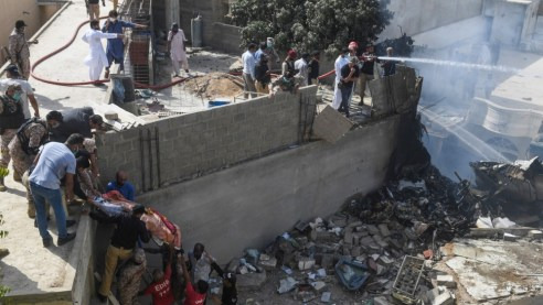 Plane With 100 People Crashes In Southern City Of Karachi