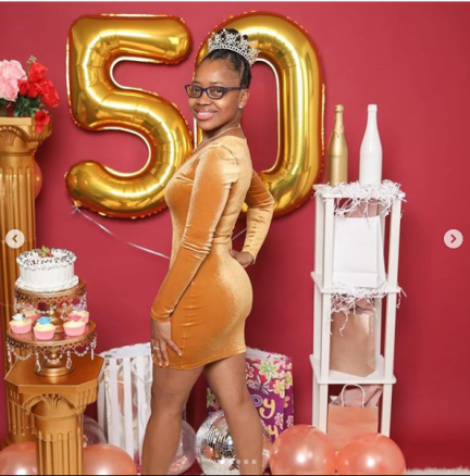 Young Lady Leaves Many In Shock As She Shares Her 50th Birthday Photos On Social Media