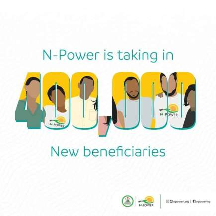 As Npower Portal Re-open For New Registration