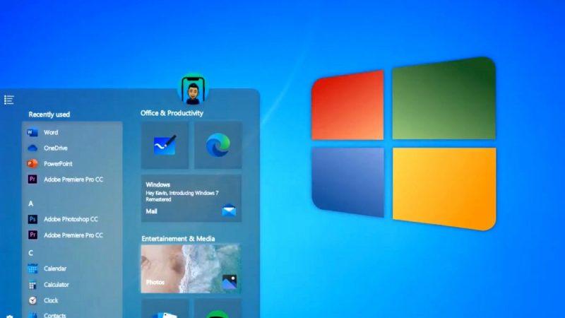 Microsoft Windows 7 Returns With 2020 Edition