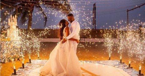 The Moment Simi And Adekunle Gold Welcome Their First Child Together