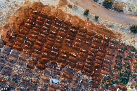 South Africa Dig Thousands Of Fresh Graves As COVID-19 Death Toll Spikes In The Country