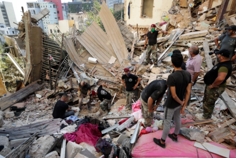 The Cause Of Lebanon Blast Reveal, As Death Toll Passes 100