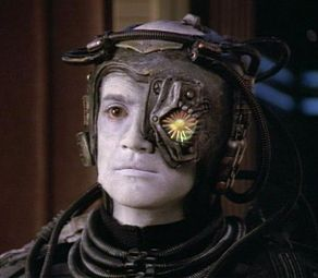 "Sadly, one eye implant wouldn't be enough for me.  My right eye is almost blind too.  Perhaps I could be a Borg with a cool Transformeresque name, like ""GoggleBot""..."