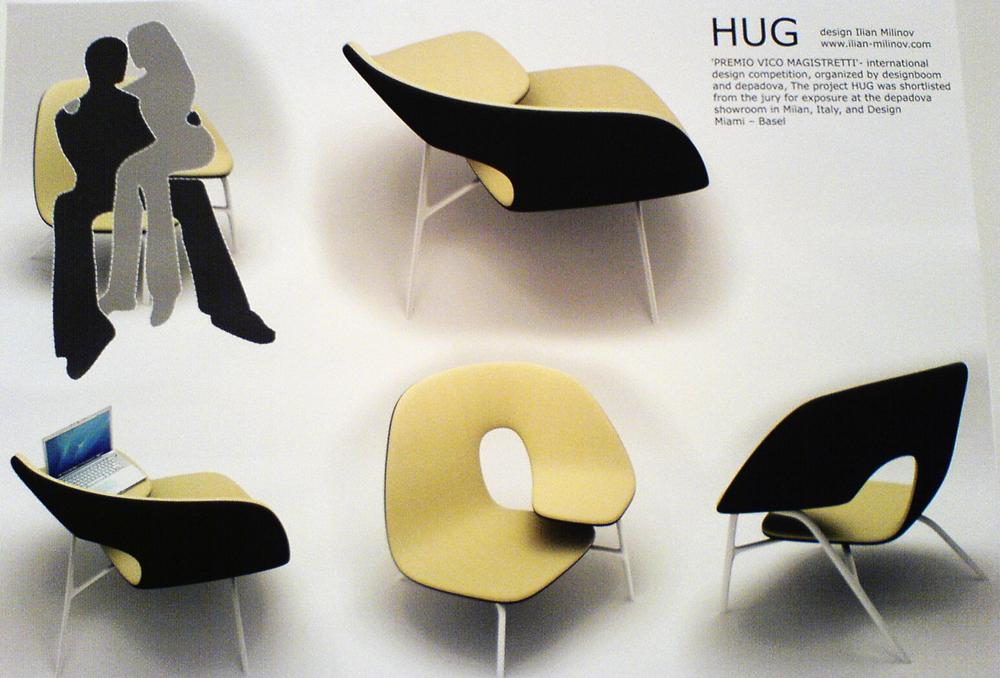 furniture design spotlight hug chair brain pickings rh brainpickings org