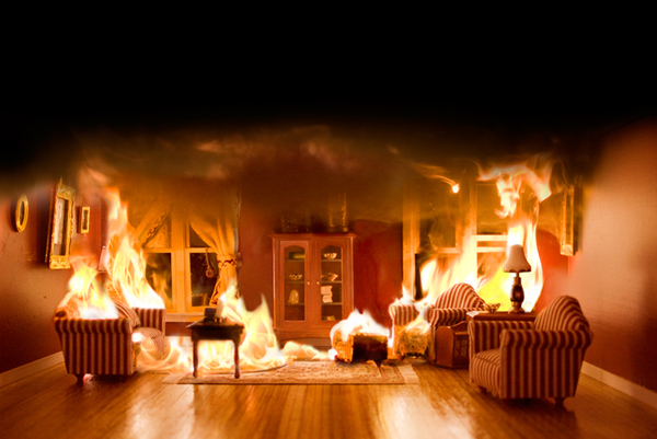Do You Ever Wonder If People Running Out Of A Burning House Are Thinking  About Rearranging The Furniture? Would You Think Them Crazy If They Did?